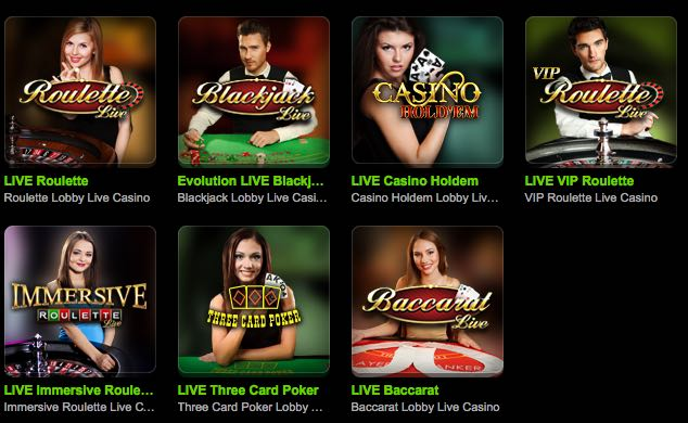 Offre Casino Mobilbet Live
