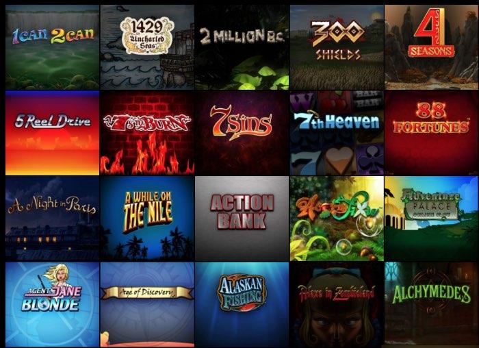 sélection de jeux voodoodreams