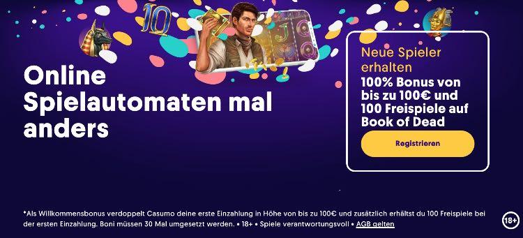 Bonus Casino Casumo