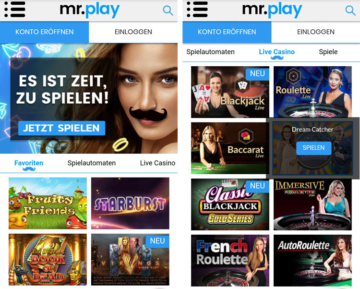 application mrplay