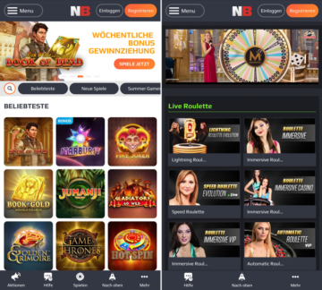 application de casino netbet