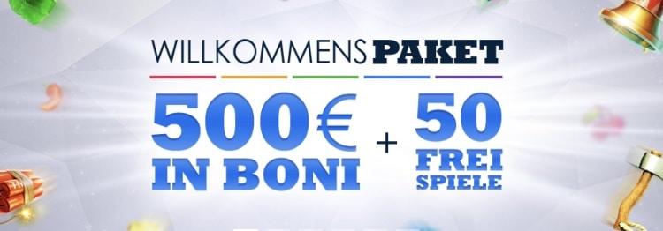 Bonus Experience SlotsMillion: jusqu'à 500 $ + 50 tours gratuits