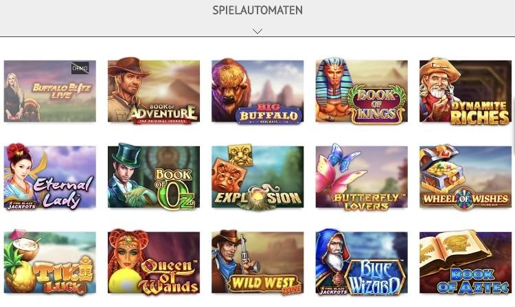 Machines à sousMillion Casino offre: vaste choix de machines à sous