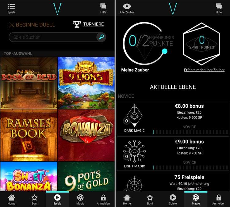 application de casino voodoodreams