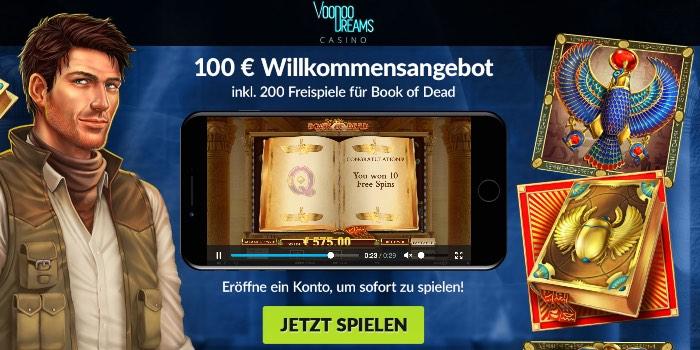 Sécurisez le nouveau bonus client du VoodooDreams Casino ici