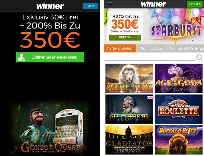 Application Winner Casino
