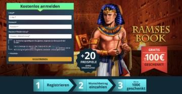 Expériences Platincasino: package de bienvenue avec des tours gratuits sans dépôt et un bonus de dépôt de 100%