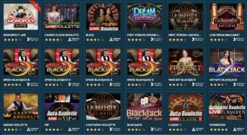Le casino en direct peut également convaincre dans le Platincasino: il existe des jeux d'Evolution Gaming, NetEnt et Authentic Gaming