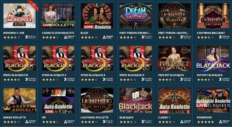 Le casino en direct du Platincasino peut également convaincre: il existe des jeux d'Evolution Gaming, NetEnt et Authentic Gaming