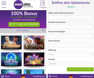 application de fournisseur de casino omni slots