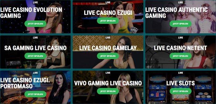 22Bet Casino en direct