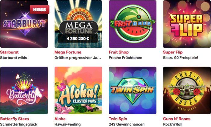 expériences de casino mobile_games