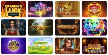 Offre de jeux Casino Joy