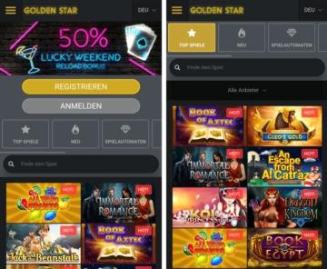 application mobile de casino goldenstar