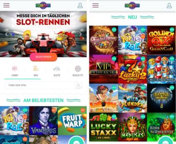 application de fournisseur de casino spinia