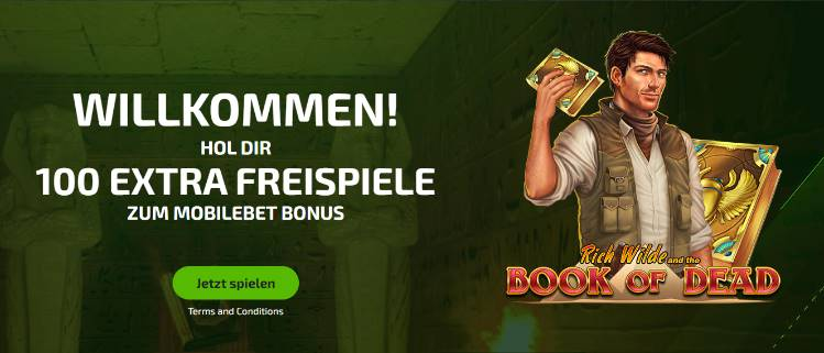 Bonus de casino MobileBet pour les nouveaux clients