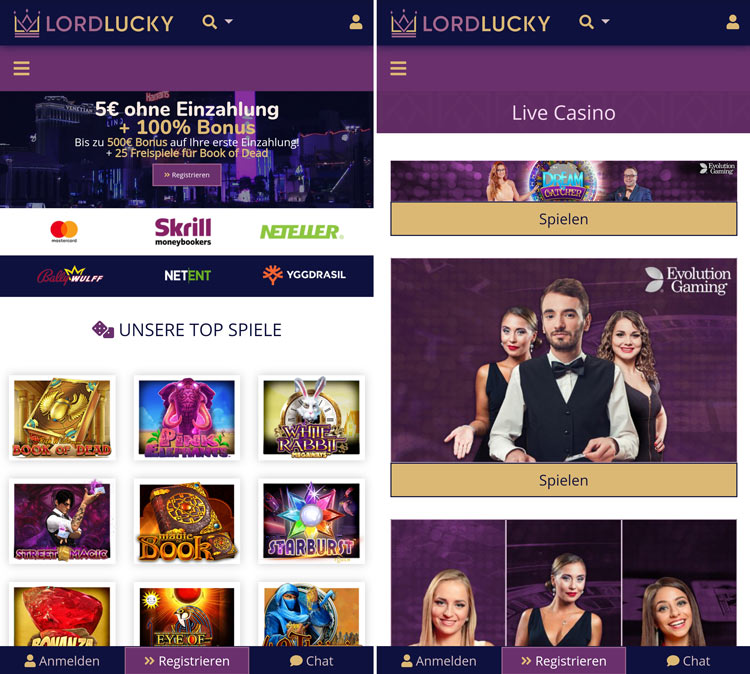 Appli Lord Lucky Casino