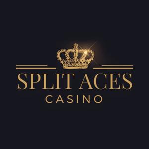 logo de casino split aces