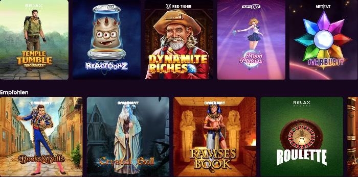 Boom Casino propose des jeux avec des développeurs de jeux renommés tels que NetEnt, Play & rsquo; N Go et Microgaming