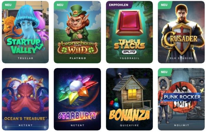 Sélection de jeux TrueFlip Casino: l'offre est convaincante