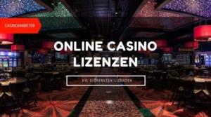Meilleures licences de casino en ligne
