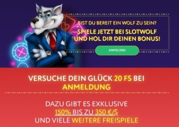 Bonus de casino Slotwolf