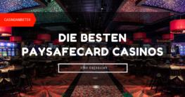 Casinos Paysafecard