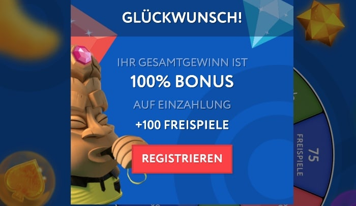 Bonus du casino Euslot