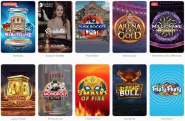 Jeux de casino Megalotto