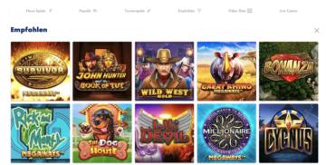 Offre de jeux GoSlotty Casino