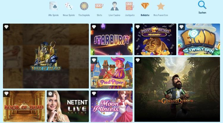 Gamme de jeux de casino CrazePlay