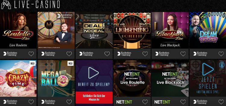 Captain Spins Casino Casino en direct