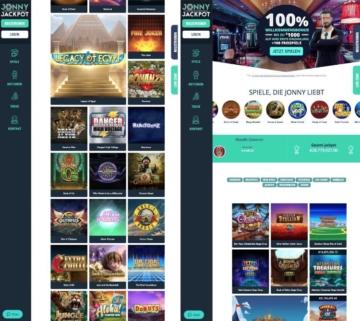 Application de casino Jonny Jackpot