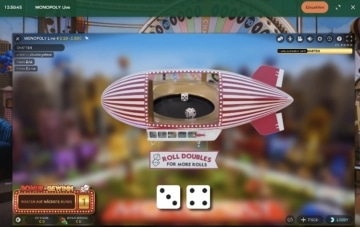 Monopole du casino en direct Mr Green