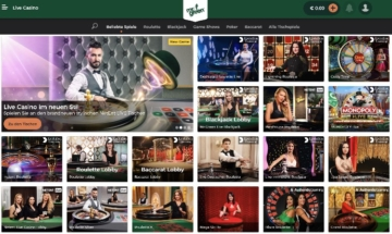 Présentation de Mr Green Live Casino