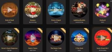 Offre de jeux Jackpot Village Casino