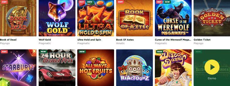 Machines à sous Mason Slot Casino