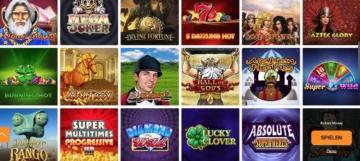 Jackpots du casino Playigo