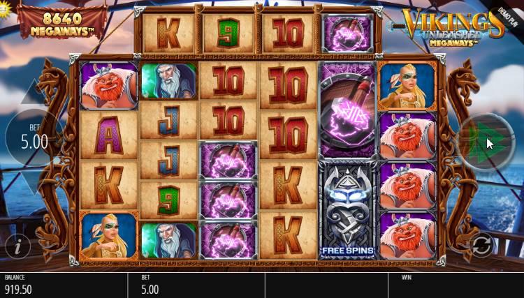 Jouez à la machine à sous Vikings Unleashed Megaways
