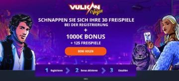 Bonus Vulkan Vegas pour les nouveaux clients