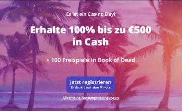 Bonus de bienvenue Casino Days