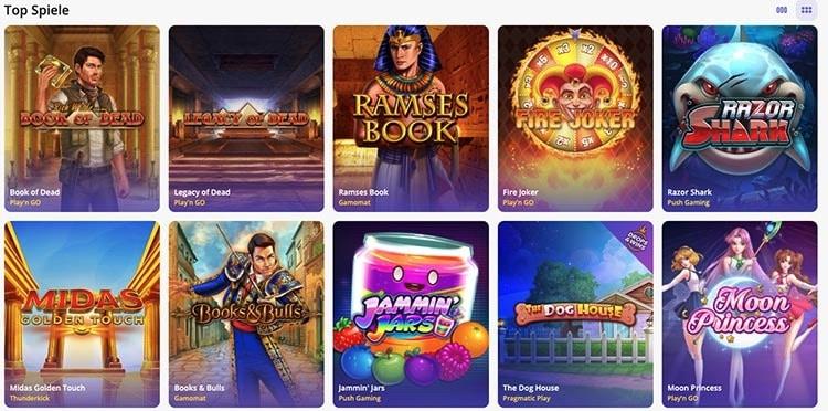 Jeux Casino Days