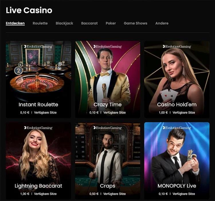 Casino.me Casino en direct