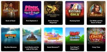 Les jeux les plus populaires du Pocket Play Casino