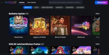 Jeux de casino Winny