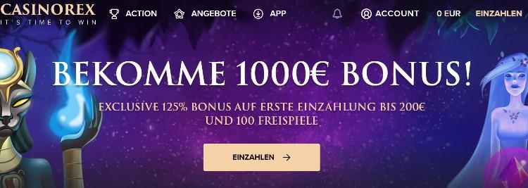 Bonus CasinoRex