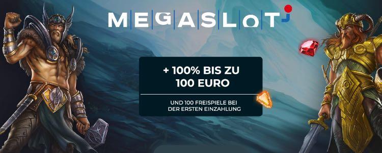 Bonus de bienvenue du casino Megaslot