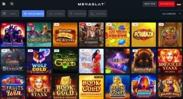 Site Web du casino Megaslot