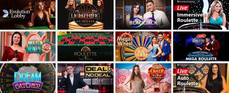 Casino en direct de Cadabrus