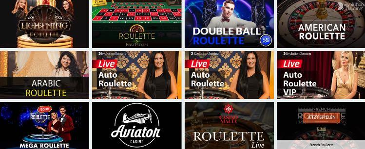 Roulette Casino Cadabrus